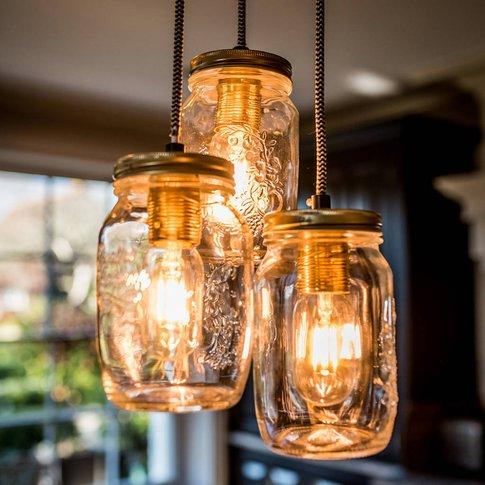 Preserve Jar Pendant Light