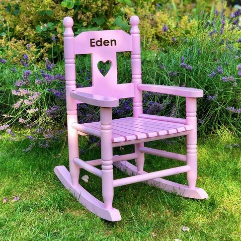 Personalised Christening Rocking Chair