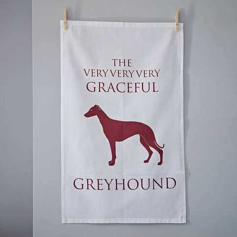 Greyhound Tea Towel