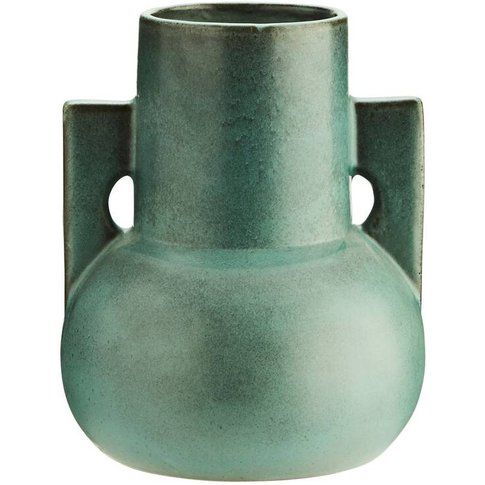 Green Terracotta 70'S Urn Vase