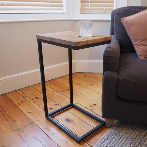 Industrial Sofa Side Table