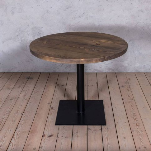 Bistro Solid Wood Round Dining Table