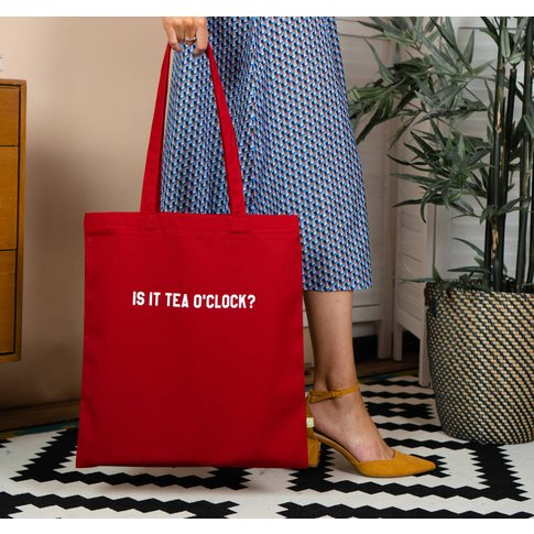 Is It Tea O'Clock? Teacher Tote Bag