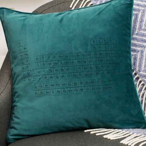 Velvet Periodic Table Cushion