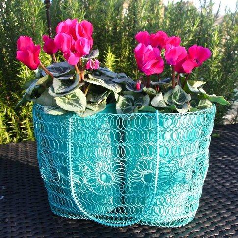 Patio Hanging Basket Planter