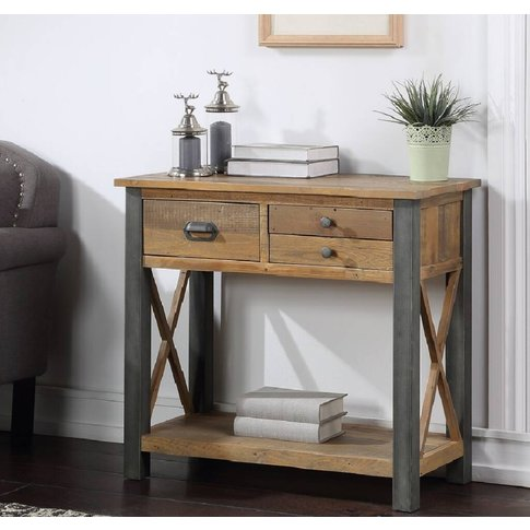 Harringay Reclaimed Wood Small Console Table