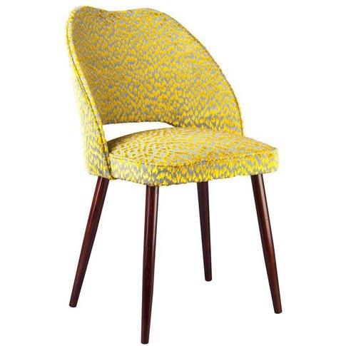 The New Fernandina Bow Dining / Desk Chair, Tangerin...