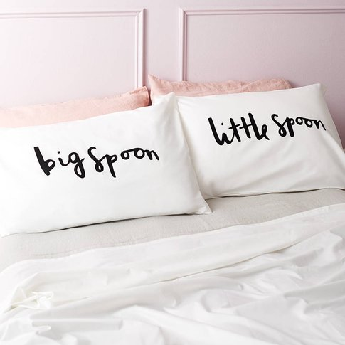 'Big Spoon Little Spoon' Pillow Cases