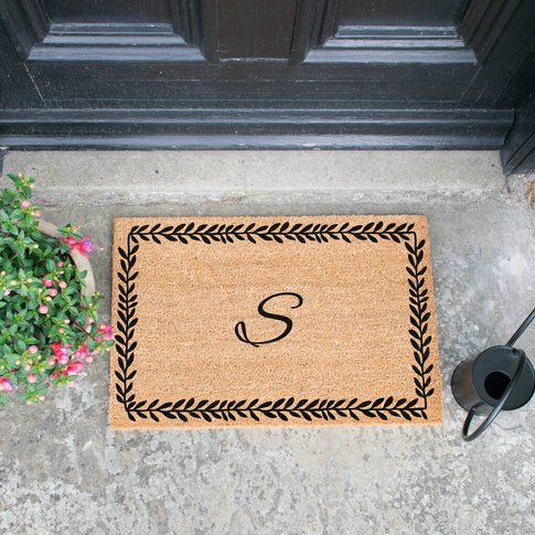Monogram Design Doormat