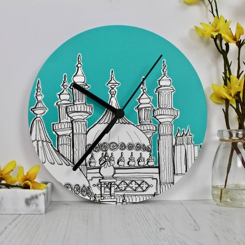 Brighton Pavilion Themed Wall Clock