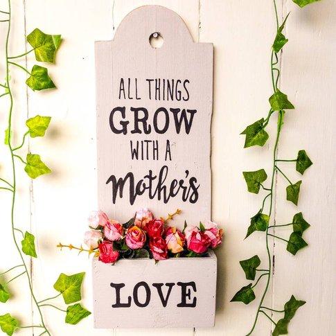 Personalised Herb/Fresh Flowers Planter