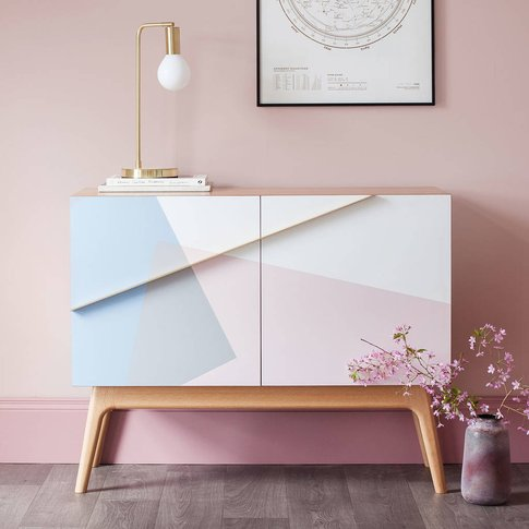 Formica Marquetry Cabinet