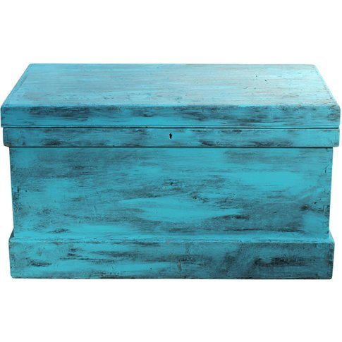 Ivar Hand Painted Blanket Box