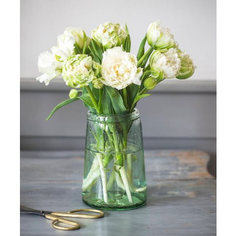 Recycled Glass Tulip Vase