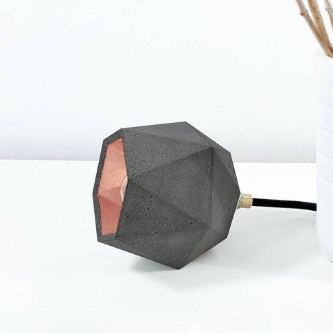 Handmade Concrete Floor Lamp