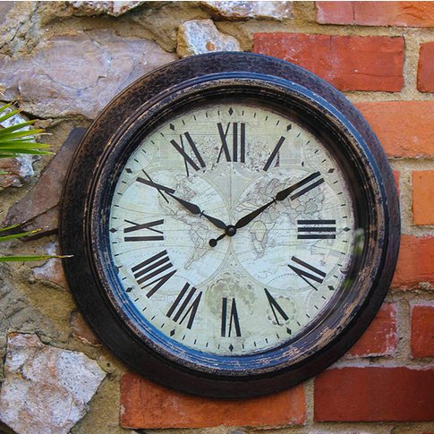 Outdoor Vintage Wall Clock