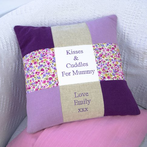 Kisses And Cuddles For Mummy Cushion