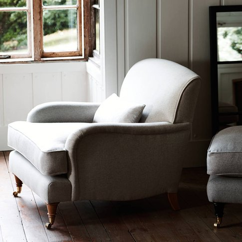 Abington Armchair, Grey