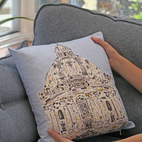 Radcliffe Camera Oxford Cushion