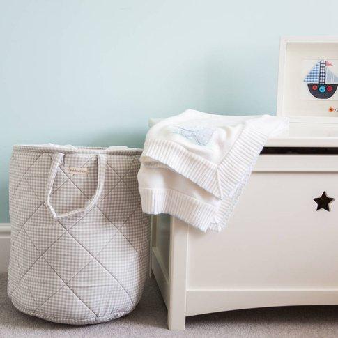 Laundry Basket, Grey