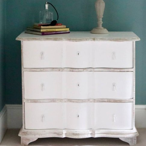 White French Chest Of Drawers