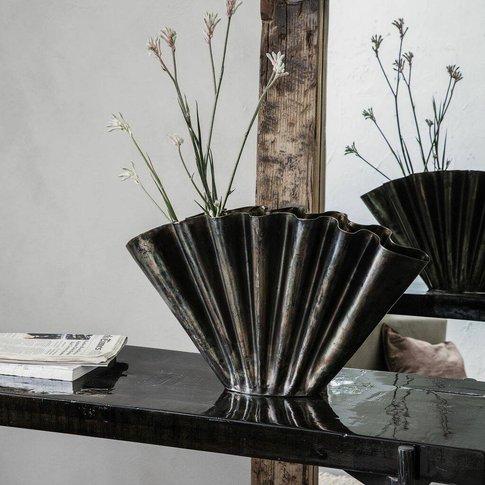 Vase, Antique Brown