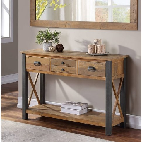 Harringay Reclaimed Wood Console Table