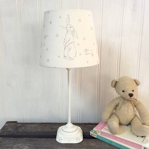 Handmade Rabbit All Star Linen Lampshade