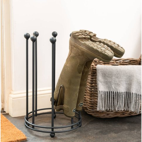 Circular Welly Boot Rack Stand