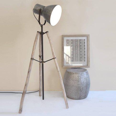 Bohemian Tripod Floor Lamp