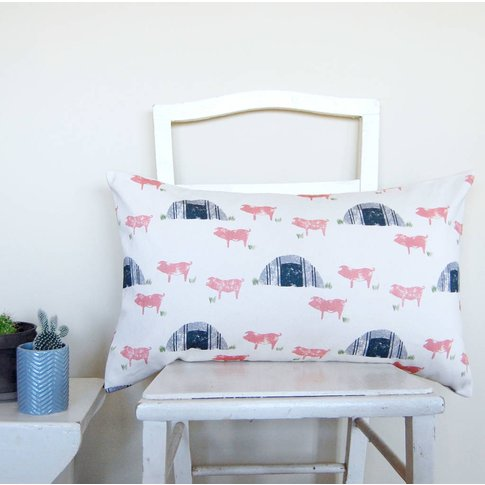 Large Rectangle Pig Sty Cushion