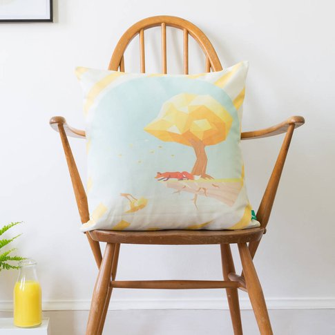 'The Trials Of The Western Wind' Cushion Cover