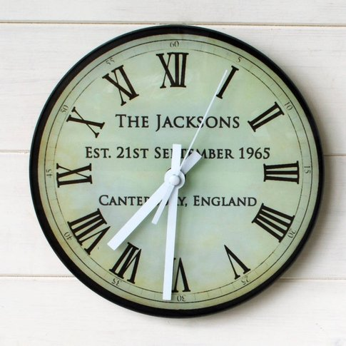 Antique Anniversary Clock