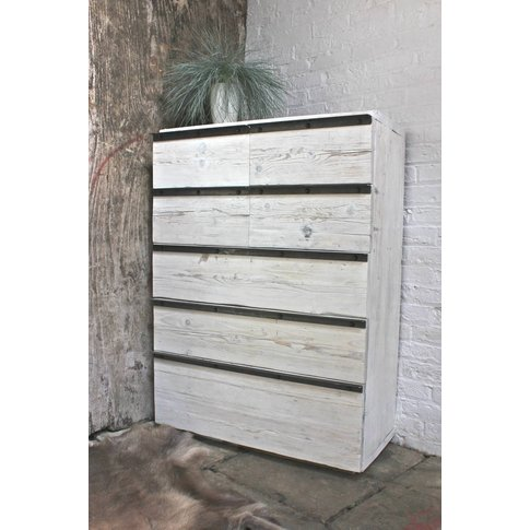 Maxwell Reclaimed Scaffolding Chest Of Drawers