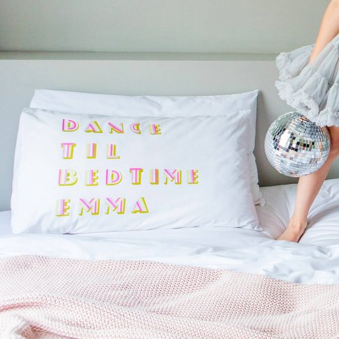 Personalised Gift For Dancer Pillowcase
