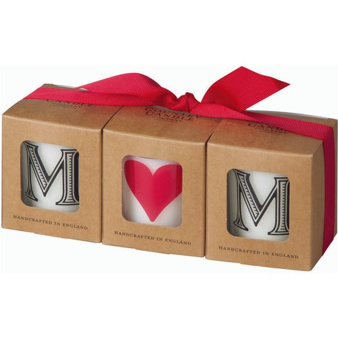 Mum Scented Votive Candle Gift Set