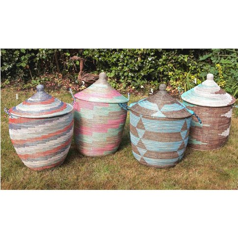 Ethnic Alibaba Laundry Basket Medium Apl/El/M