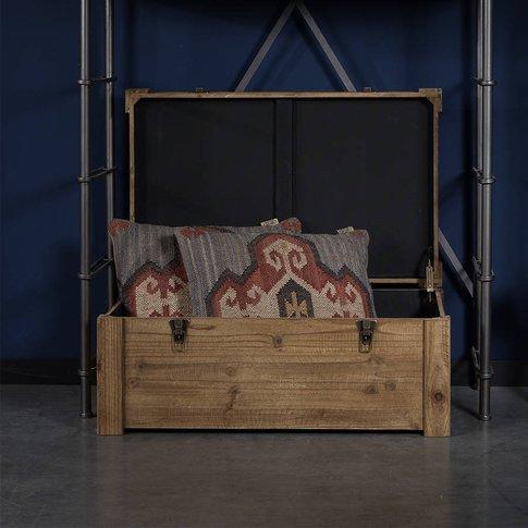 Dutchbone Lon Wooden Storage Box
