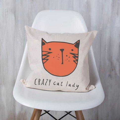 'Crazy Cat Lady' Cushion