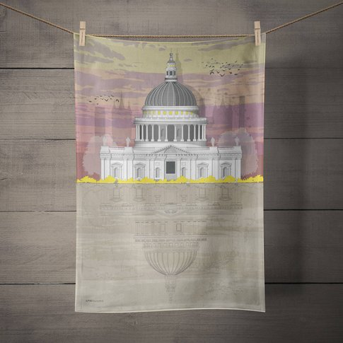 St. Paul's Cathedral Tea Towel