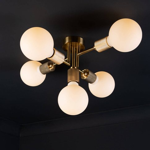 Connaught Five Arm Ceiling Light