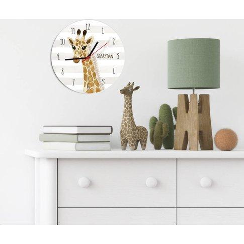 Safari Giraff Clock