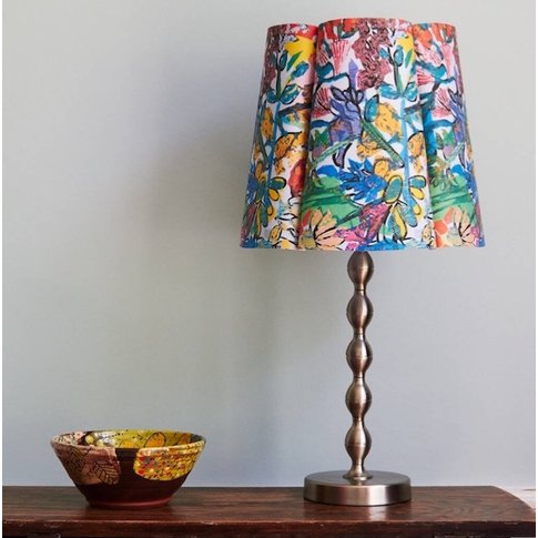 Leicester Abstract Floral Paper Lampshade