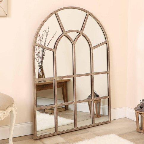 Wingfield Gothic Metal Window Mirror