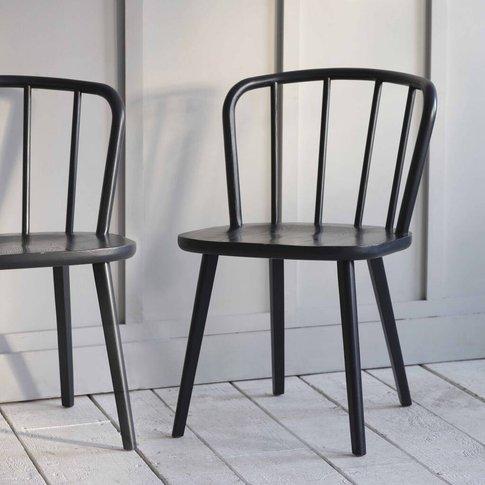 Ash Black Dining Chair