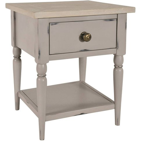 Warwickshire Lamp Table Grey Or Ivory