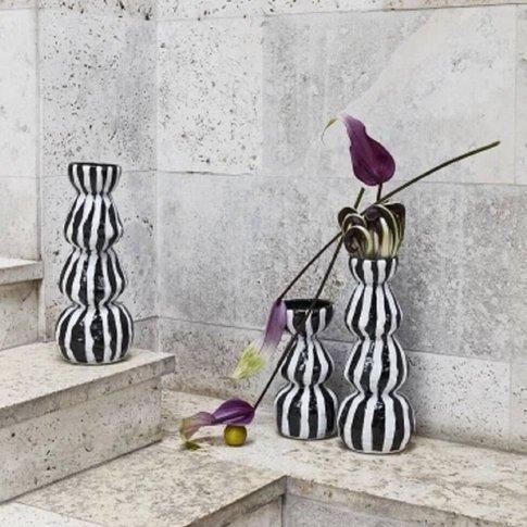 Lines Ceramic Day Vase