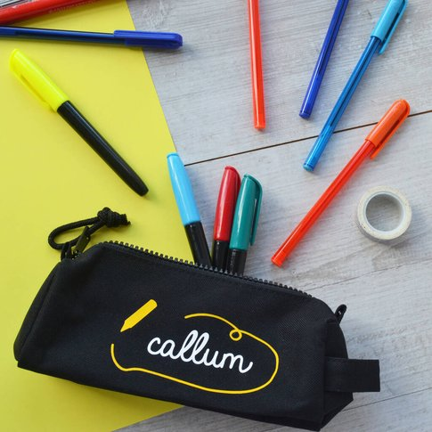 Personalised Scribble Pencil Case