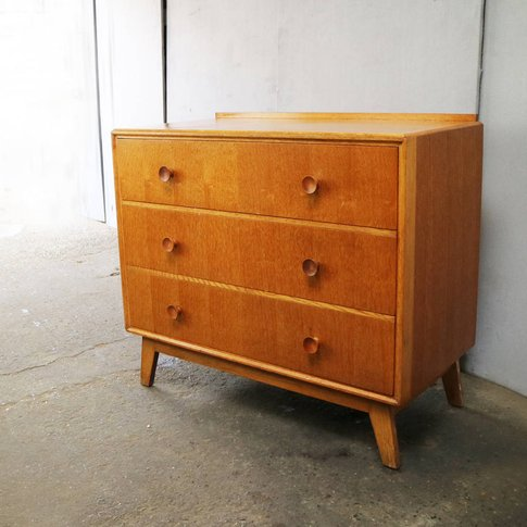 1960'S Mid Century English Chest Of Drawers By Meredrew