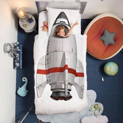 Rocket Duvet Cover And Pillowcase Set
